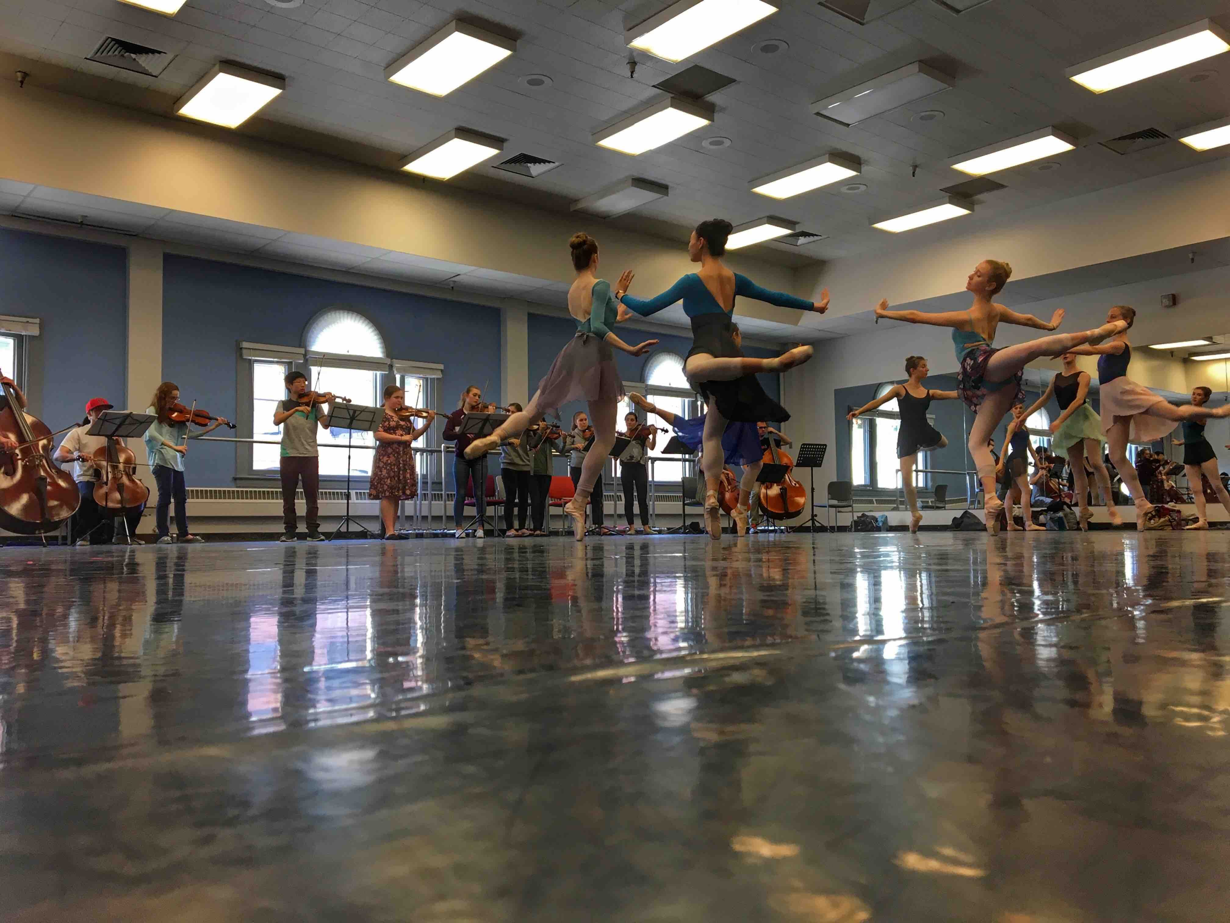 Ballet West April 29 GMS Students