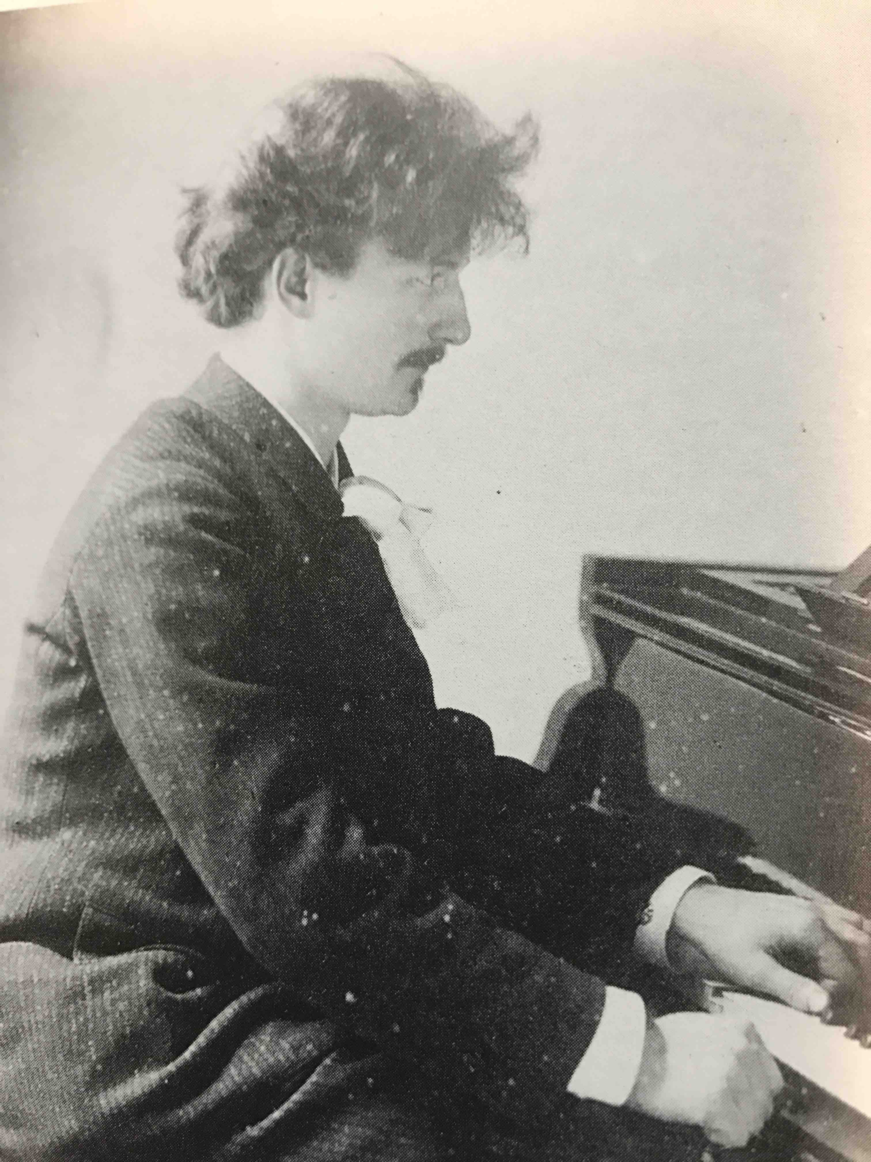 Paderewski at the piano SMALL